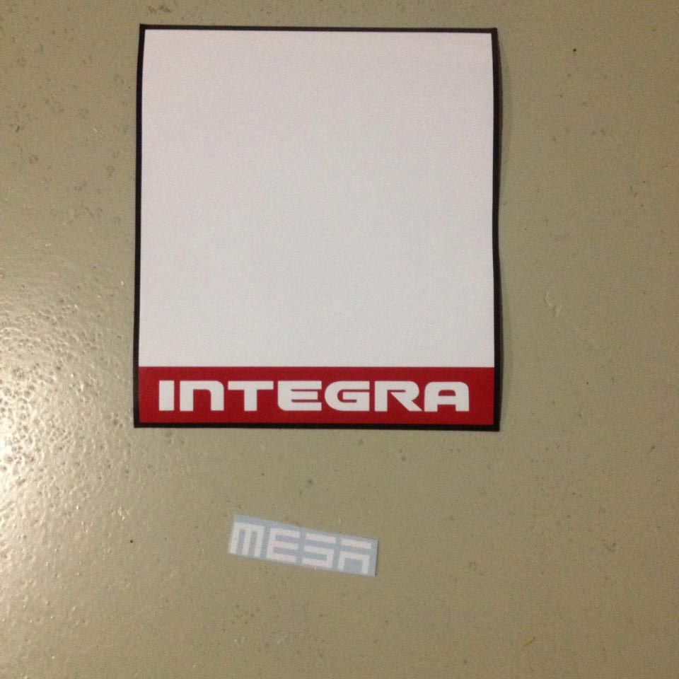 & 1G integra : jdm integra number plate door shield