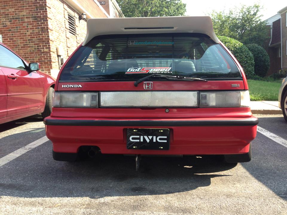 Ef Hatch Clear Tail Lights