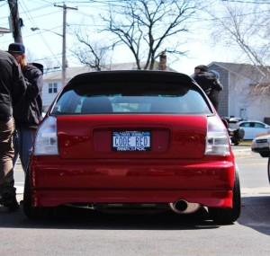 Ek Hatchback Full Clear Tail Lights